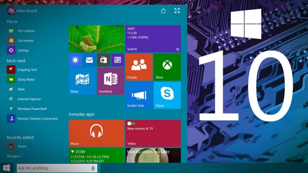 TIPS ON HOW TO TAKE ADVANTAGE OF WINDOWS 10 NEW FEATURES